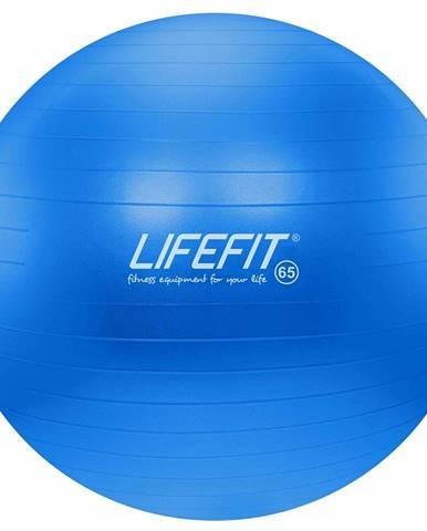Gymnastický míč LIFEFIT ANTI-BURST 65 cm, modrý