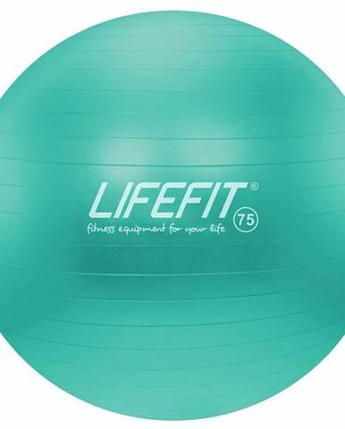 Gymnastický míč LIFEFIT ANTI-BURST 75 cm, tyrkysový