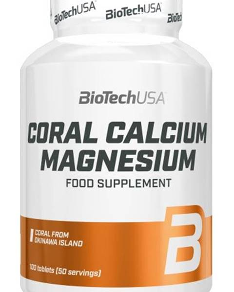 Biotech USA Biotech Coral Calcium Magnesium 100 tabliet