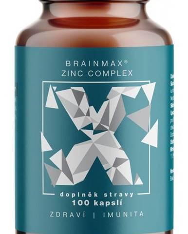 Brainmax Zinc Complex , Zinok , Selén , Meď a Kurkuma 100 kapsúl