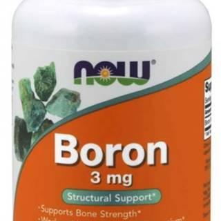 NOW Boron (bór) 3 mg 250 kapsúl
