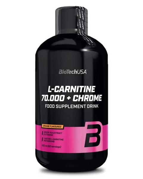 Biotech USA BioTech USA BioTech L-Carnitine 70.000 + Chrome 500 ml variant: pomaranč