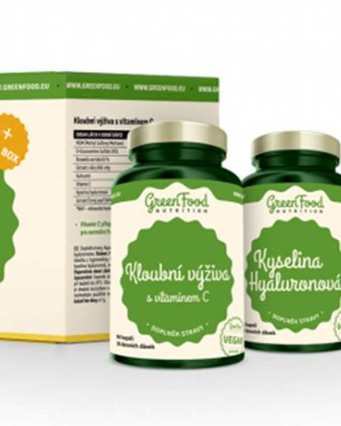 GreenFood GreenFood Joints Care + Pillbox