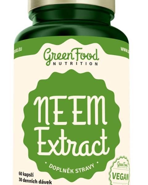 GreenFood GreenFood NEEM extract 60 kapsúl