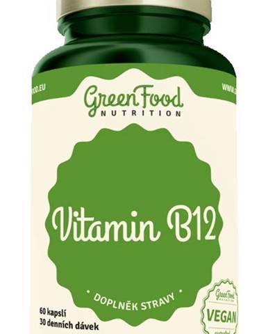 GreenFood Vitamin B12 60 kapsúl