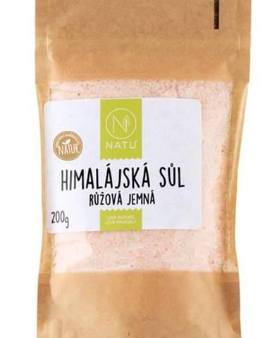 Natu Himalájska ružová soľ jemná 200 g