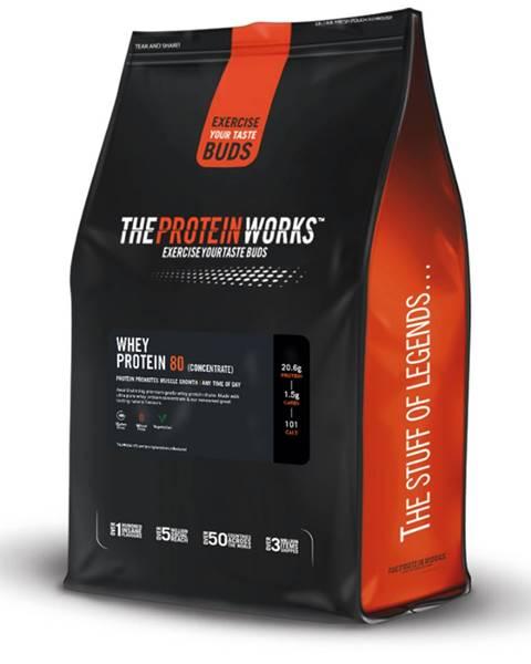 The Protein Works TPW whey protein 80 500 g banánový koktejl
