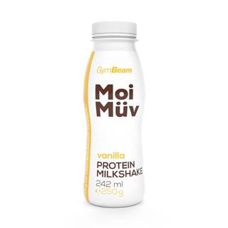 GymBeam MoiMüv Protein Milkshake 242 ml vanilka