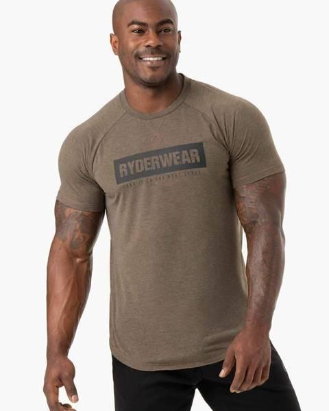 Ryderwear Ryderwear Pánske tričko Iron Khaki Marl  S