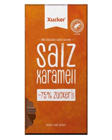 Xucker čokoláda slaný karamel 80 g