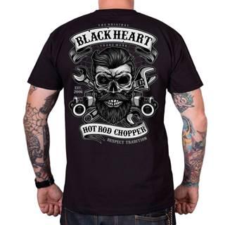 Tričko BLACK HEART Respect Tradition čierna - M