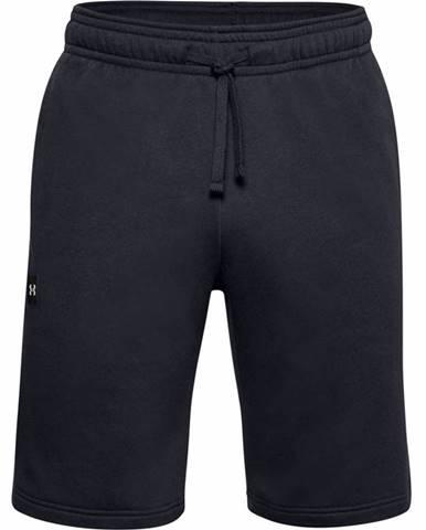 Pánske kraťasy Under Armour Rival Fleece Shorts Black - S