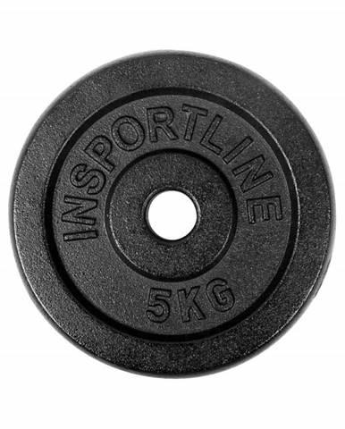 Liatinové závažie inSPORTline Castblack 5 kg