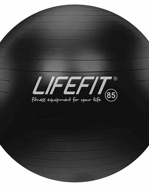 Lifefit Gymnastický míč LIFEFIT ANTI-BURST 85 cm, černý