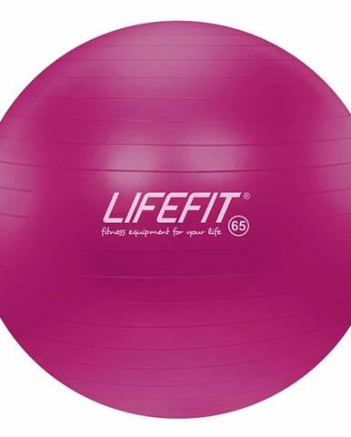 Gymnastický míč LIFEFIT ANTI-BURST 65 cm, bordó