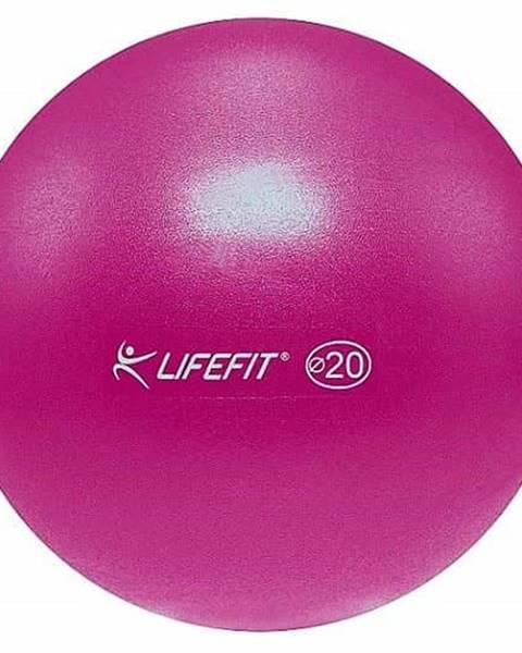 Lifefit Míč OVERBALL LIFEFIT 20cm, bordó