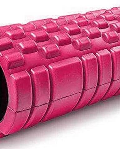 Masážní VÁLEC YOGA FOAM ROLLER Sedco 33x14 cm - Růžová