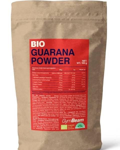 GymBeam Bio Guarana Powder - GymBeam 100 g