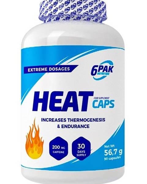 6PAK Nutrition Heat Caps - 6PAK Nutrition 90 kaps.