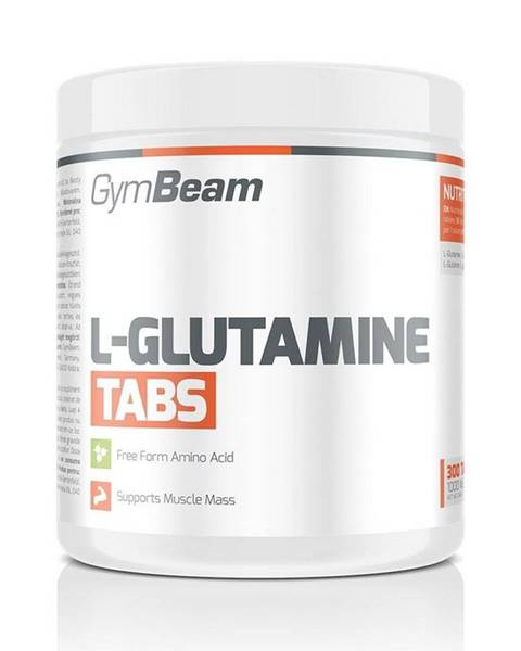 GymBeam L-Glutamine Tabs - GymBeam 300 tbl.