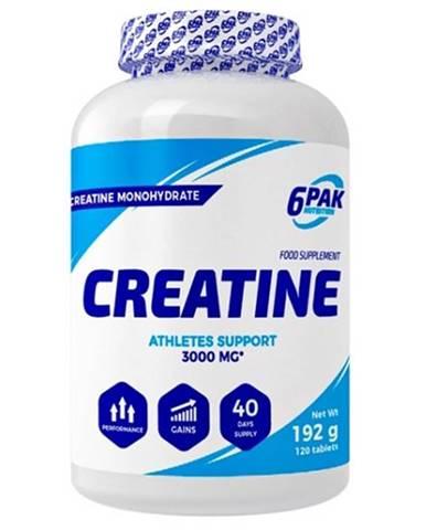 Creatine Monohydrate tbl. - 6PAK Nutrition 120 tbl.