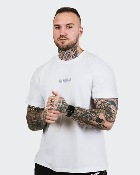 GymBeam GymBeam Tričko FIT White  S