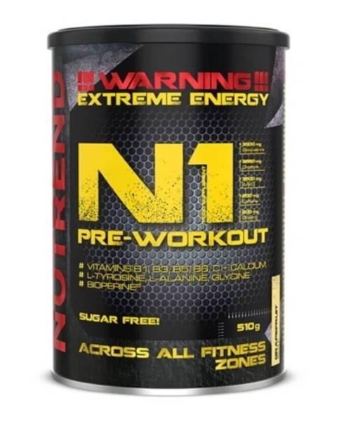 Nutrend NUTREND N1 Pre-Workout 300 g červený pomaranč