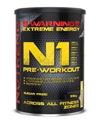 NUTREND N1 Pre-Workout 300 g červený pomaranč