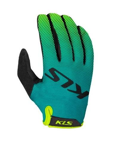 Cyklo rukavice Kellys Plasma Green - XXL