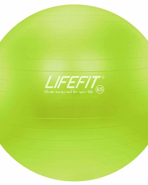 Lifefit Gymnastický míč LIFEFIT ANTI-BURST 65 cm, zelený