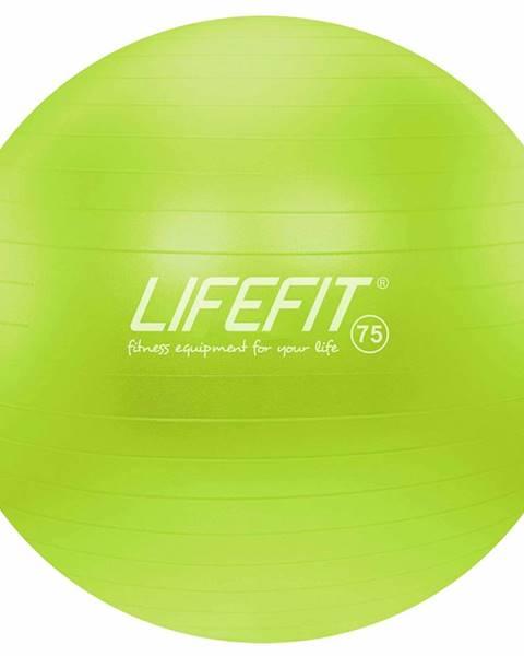 Lifefit Gymnastický míč LIFEFIT ANTI-BURST 75 cm, zelený