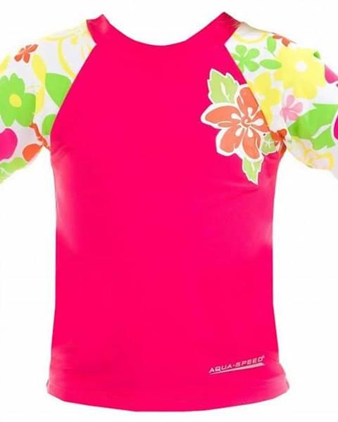 Aqua-Speed Flower tričko s UV ochranou Velikost (obuv): vel. 4