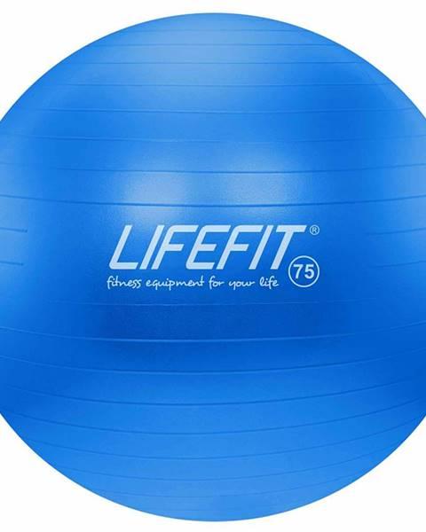 Lifefit Gymnastický míč LIFEFIT ANTI-BURST 75 cm, modrý