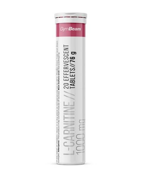 GymBeam GymBeam L-carnitine 1000 mg 20 tab. malina