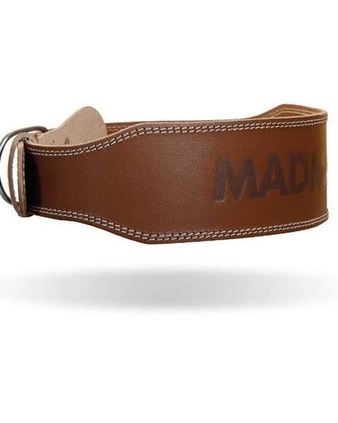 MadMax MADMAX Fitness opasok Full Leather Chocolate Brown  M