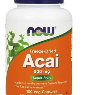 NOW Foods Acai 500 mg 100 kaps.