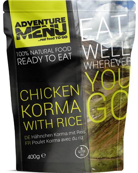Adventure Menu Adventure Menu Kurča Korma s ryžou 400 g