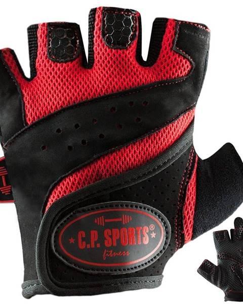C.P. Sports C.P. Sports Fitness rukavice červené  XS