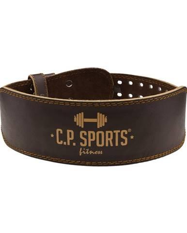 C.P. Sports Fitness opasok Kožený hnedý  S