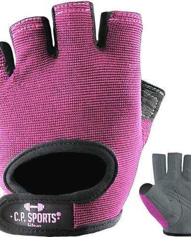 C.P. Sports Fitness rukavice Power ružové  XS