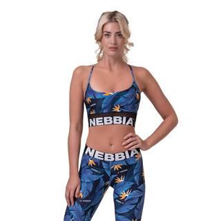 NEBBIA Športová podprsenka Earth Powered Blue  XS