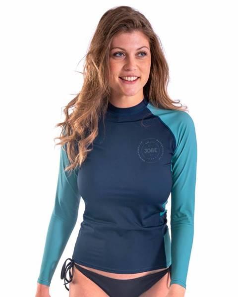 JOBE Dámske tričko pre vodné športy Jobe Rashguard s dlhým rukávom Midnight Blue - S