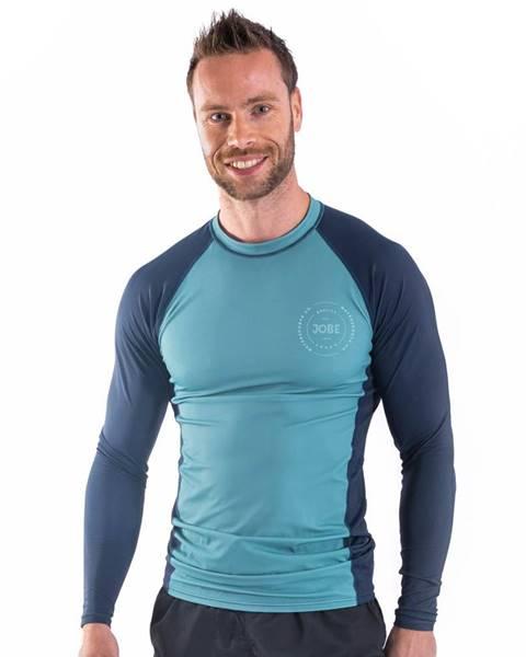 JOBE Pánske tričko pre vodné športy Jobe Rashguard s dlhým rukávom Vintage Teal - S