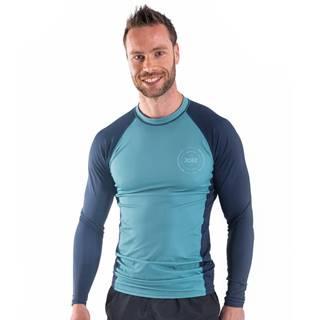 Pánske tričko pre vodné športy Jobe Rashguard s dlhým rukávom Vintage Teal - S