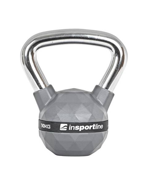 Insportline Pogumovaná činka inSPORTline Ketlebel PU 10kg