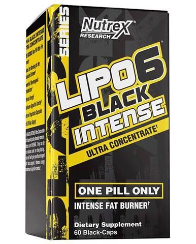 Lipo 6 Black Intense Ultra Concentrate - Nutrex 60 kaps.