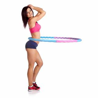 Obruč inSPORTline Weight Hoop Magnetic 110 cm