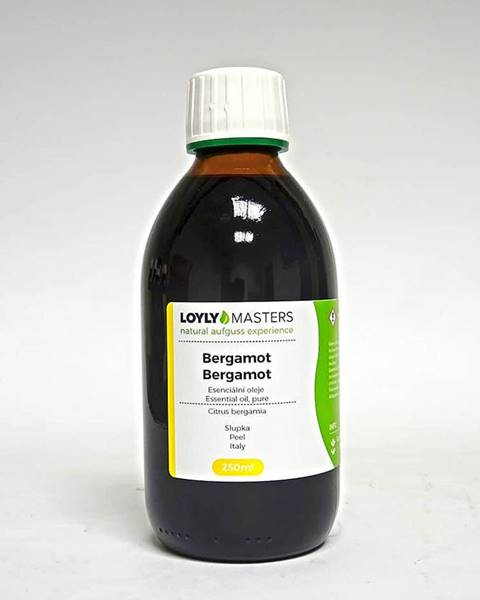 Hanscraft 100% EO LOYLY MASTERS Bergamot (250ml)