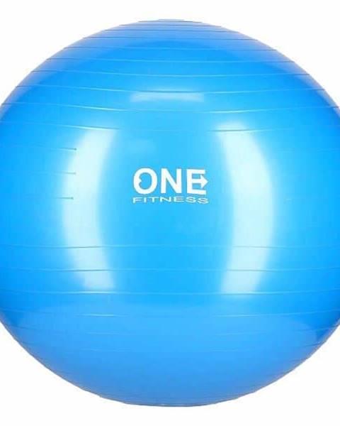 ONE FITNESS Gymnastický míč ONE Fitness Gym Ball 10 modrý, 65 cm