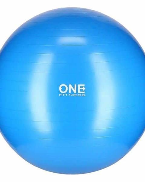 ONE FITNESS Gymnastický míč ONE Fitness Gym Ball 10 modrý, 75 cm